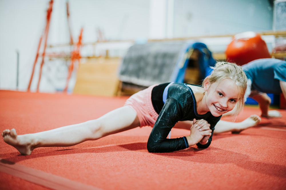 We raise our gymnasts from the ground up